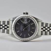 Rolex Oyster Perpetual Lady Date Stahl 26mm Grau Keine Ziffern Deutschland, Iffezheim