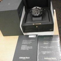 Audemars Piguet Carbono Automático Negro 44mm usados Royal Oak Offshore Chronograph