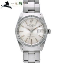 Rolex Oyster Perpetual Date Stal 34mm Srebrny