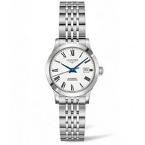 Longines Steel Automatic White new Record