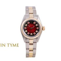Rolex Oyster Perpetual pre-owned 24mm Red Gold/Steel