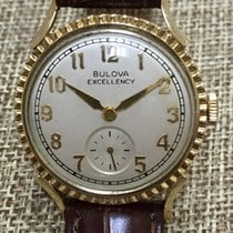 Bulova Yellow gold Manual winding pre-owned United States of America, California, Cerritos