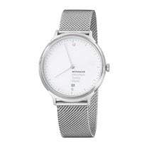 Mondaine UNISEX  Quartz 38mm Helvetica No 1 Light MH1.L2210.SM