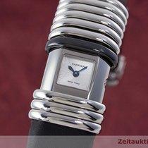 Cartier Lady Declaration Titan / Stahl Diamanten Damenuhr Ref....
