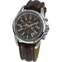 Jacques Lemans Sport Liverpool Steel 44mm Brown