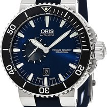 Oris Aquis Small Second Steel Blue United States of America, New York, Brooklyn