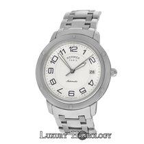 Hermès Clipper Steel 39mm White Arabic numerals United States of America, New York, New York