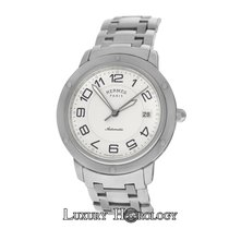 Hermès Authentic Mens  Clipper CP2.810 Date Steel Automatic