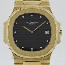 Patek Philippe Nautilus Jumbo Gelbgold 3700/1 - Full Set