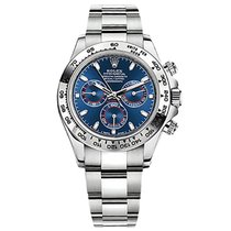 Rolex Daytona Blue Dial  White Gold ref 116509