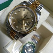 Rolex 116233 Rolex Datejust 36mm Gold/Steel Champagne (Automat...