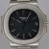 Patek Philippe Nautilus 3800 Stainless Steel Blue Sigma Dial...
