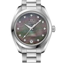 Omega Steel 34mm Automatic 220.10.34.20.57.001 new