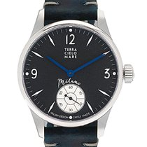 Terra Cielo Mare Steel 44mm Manual winding TC7005STA3PA new