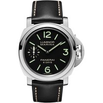 Panerai Luminor Marina 8 Days new 2019 Manual winding Watch with original box and original papers PAM 00510