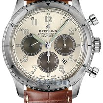 Breitling Navitimer 8 Steel 43mm Silver United States of America, New York, Airmont