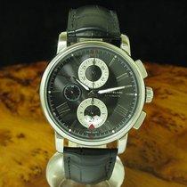 Montblanc Edelstahl Automatic Chronograph Herrenuhr Box &...