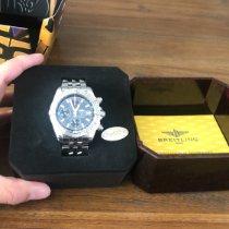 Breitling Chronomat Evolution Staal 44mm Geen cijfers Nederland, wenum wiesel