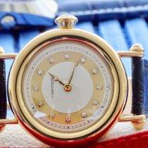 Cartier Diabolo Gelbgold 32mm senza corona 36mm con la coronamm