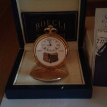 Boegli Yellow gold Manual winding 54mm new