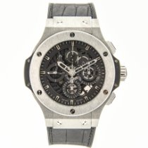 Hublot Tungsten Automatic pre-owned Big Bang Aero Bang