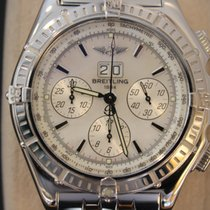 Breitling Crosswind Special White gold 44mm Mother of pearl No numerals United States of America, New York, New York