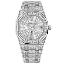 Audemars Piguet Royal Oak Jumbo White gold 39mm No numerals United States of America, New York, New York