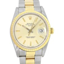 Rolex Oyster Perpetual Date Steel 34mm Champagne United States of America, Florida, Boca Raton
