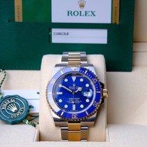 Rolex Submariner Date Acero y oro 40mm Azul Sin cifras España, barcelona