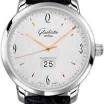 Glashütte Original Sixties Panorama Date new Automatic Watch with original box and original papers 39-47-01-02-04