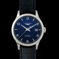 Longines Record Steel 38.50mm Blue United States of America, California, San Mateo