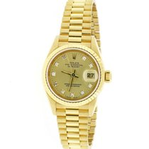 Rolex 69178 Yellow gold Lady-Datejust pre-owned United States of America, New York, New York