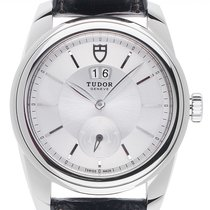 Tudor Glamour Double Date Steel 42mm Silver