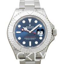Rolex Yacht-Master 40 nuevo Automático Reloj con estuche y documentos originales 126622 blue