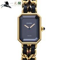 Chanel Or jaune Quartz Noir 26mm occasion