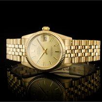 Rolex Datejust Ouro amarelo 31mm Champanhe Sem números