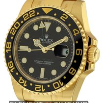 Rolex GMT-Master II Yellow gold 40mm Black United States of America, New York, New York