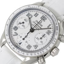 Omega Speedmaster Ladies Chronograph Steel 38mm White Arabic numerals United States of America, New York, Greenvale