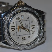 Breitling Cockpit Steel 32mm White No numerals United States of America, New York, NEW YORK CITY