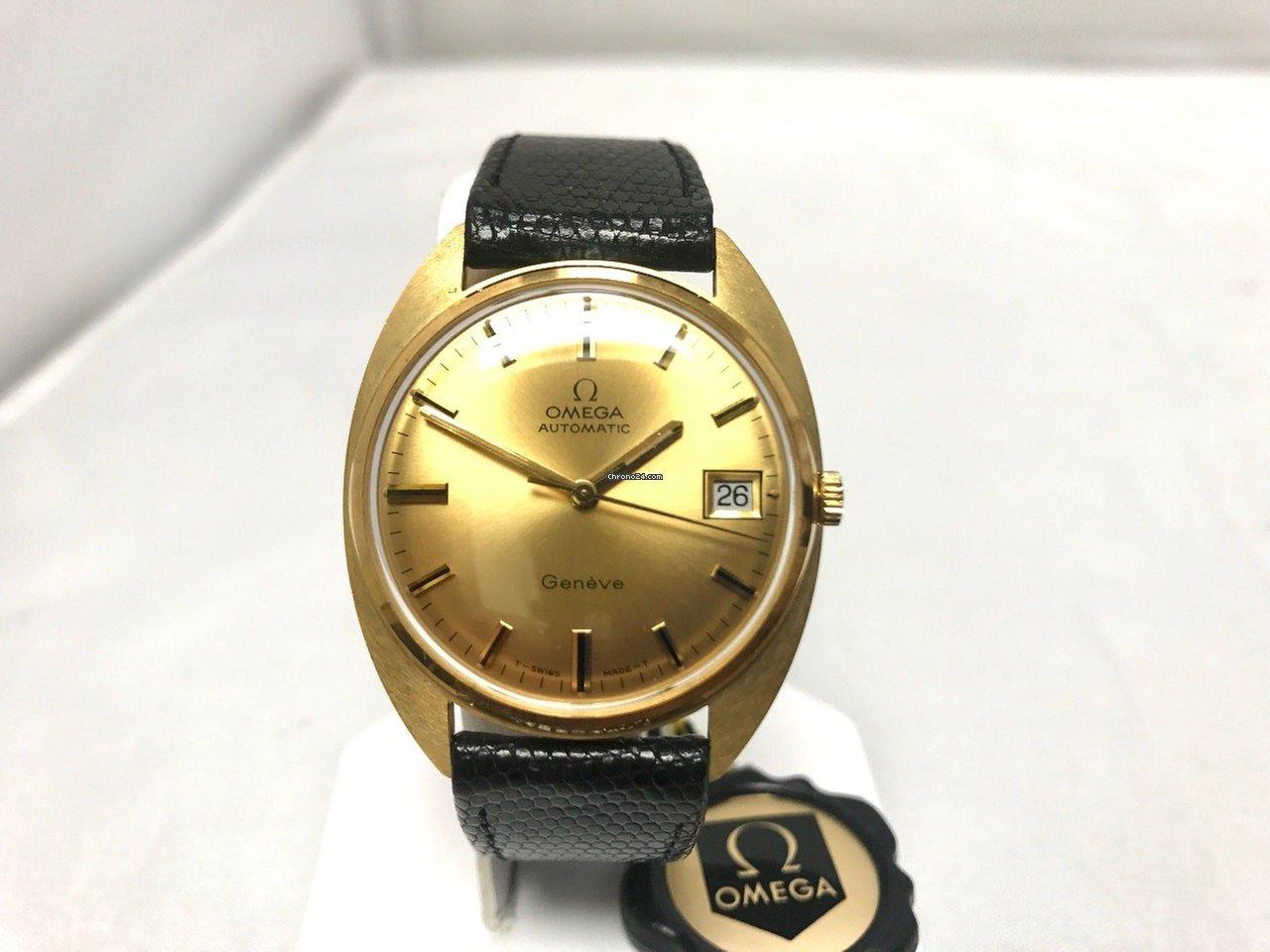 c6b0c3434ba Omega Genève Ouro amarelo - Todos os preços de relógios Omega Genève Ouro  amarelo na Chrono24