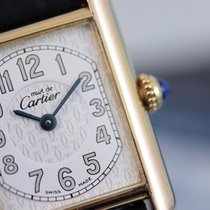 Cartier Must De Cartier Tank Lady 22mm Argent Vermeil - Box &...