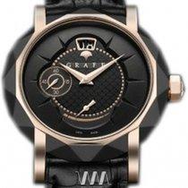 Graff GraffStar Grand Date 18K Rose Gold & DLC Men's Watch