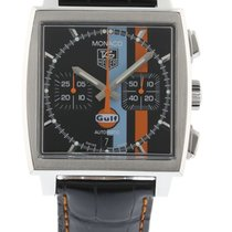 TAG Heuer Monaco Gulf Edition CW211A.FC6228 Watch with Leather...