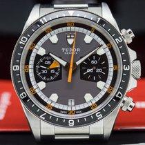 Tudor 70330N Heritage Chronograph Grey Dial SS / SS (28077)