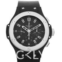 恒宝  HUBLOT Black Dial Rubber Automatic Men's Watch 44mm - 301.CK
