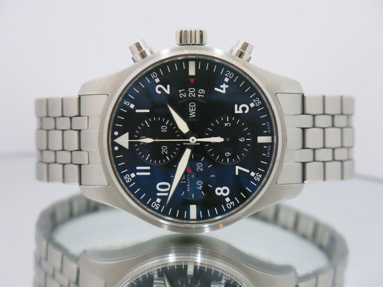 0765593f99d7a IWC Pilot - Todos os preços de relógios IWC Pilot na Chrono24