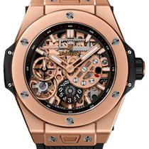 Hublot Oro rosa Cuerda manual Transparente Arábigos 45mm nuevo Big Bang Meca-10