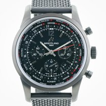 Breitling Transocean Unitime Pilot Steel 46mm Black No numerals United States of America, California, Pleasant Hill