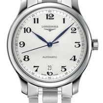 Longines Master Collection Steel 38.5mm Silver Arabic numerals