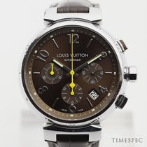 Louis Vuitton Stål 41mm Automatisk Q1121 begagnad
